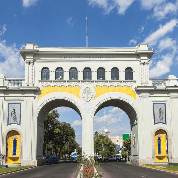 Entry to the City of Gudalajara