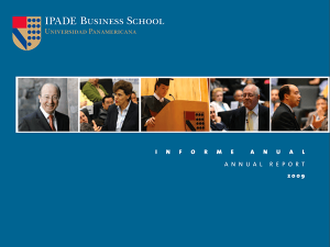 Annual Report 2009 IPADE