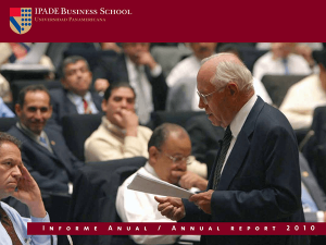 Annual Report 2010 IPADE