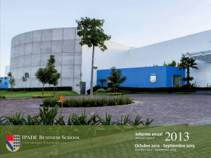 Annual Report 2013 IPADE