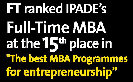 Ranked Full-time MBA